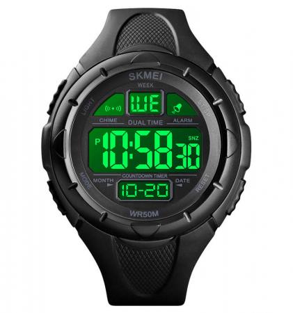 Skmei Ceas sport Dual Time Cronometru Alarma [3]