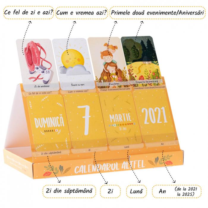 Calendarul Altfel 1