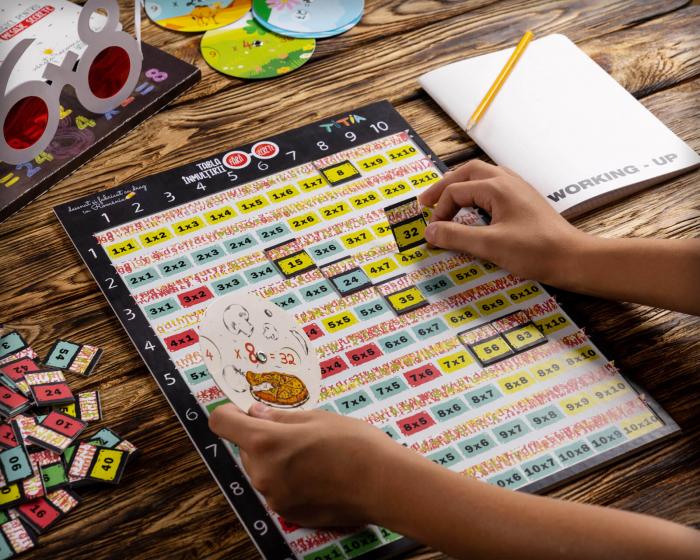 Tabla înmulțirii fără secrete - Joc aritmetic educativ [5]