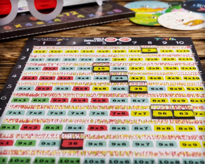 Tabla înmulțirii fără secrete - Joc aritmetic educativ [6]