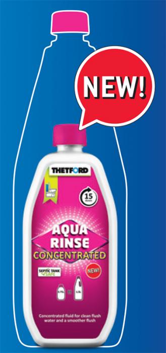 AQUA Rinse (Solutie concentrata) - Odorizant si lubrifiant pentru toaleta portabila Porta Potti - 750ml [2]