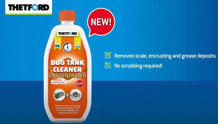 Duo Tank Cleaner – solutie concentrata 800 ml, pentru curatare periodica WC si rezervor apa gri rulote si autorulote [2]