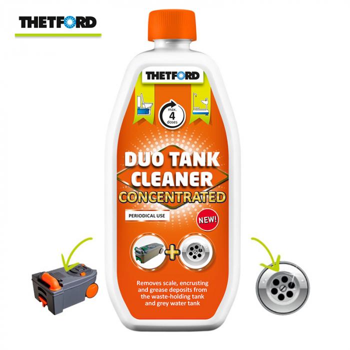 Duo Tank Cleaner – solutie concentrata 800 ml, pentru curatare periodica WC si rezervor apa gri rulote si autorulote [0]
