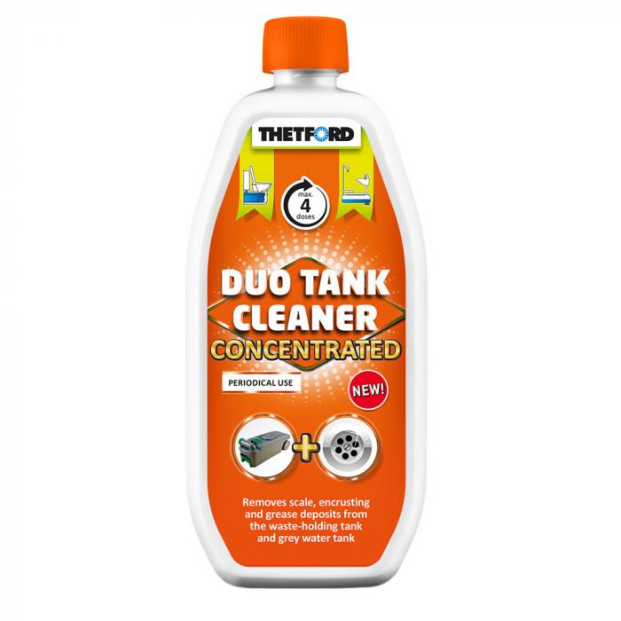 Duo Tank Cleaner – solutie concentrata 800 ml, pentru curatare periodica WC si rezervor apa gri rulote si autorulote [3]