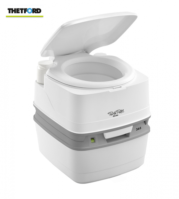 Toaleta mobila (wc portabil, wc de camera) THETFORD PORTA POTTI 365, pentru camping, rulote, pescari, cabane 0