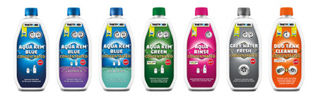 AQUA KEM BLUE - Solutie concentrata dezinfectare rezervor reziduuri toaleta portabila - 780 ml (eficienta crescuta) [3]