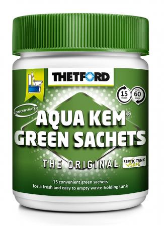 Aqua Kem Green Sachets - Saculeti predozati solubili - Dezinfectant ecologic - Thetford [0]