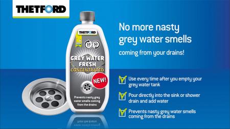 Grey Water Fresh - Solutie concentrata de la THETFORD pentru rezervoare de ape reziduale [1]