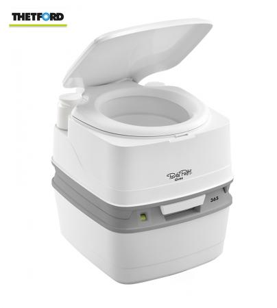 Toaleta portabila (wc portabil, wc de camera) THETFORD PORTA POTTI 365, pentru camping, rulote, cabane, pescari0