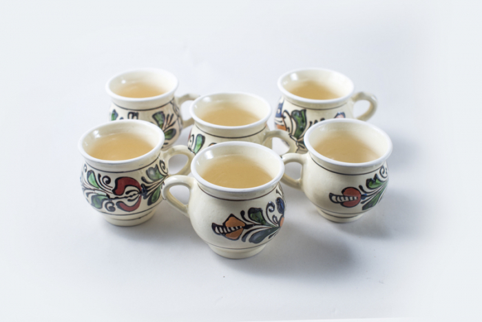 Cana ceramica motive traditionale Ana 6/set 0