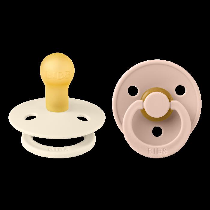 2 Pack Bibs Colour Ivory / Blush Size 1 (0-6 Luni) [0]