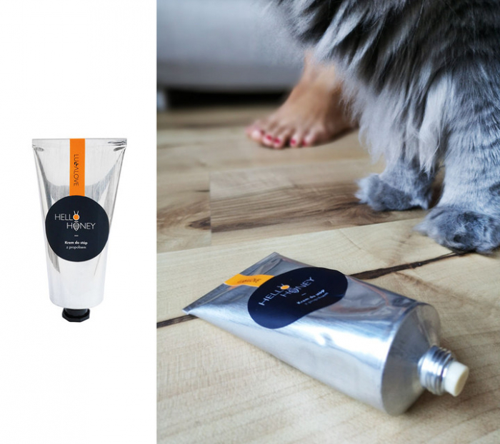 Crema de picioare cu Propolis 70ml [3]