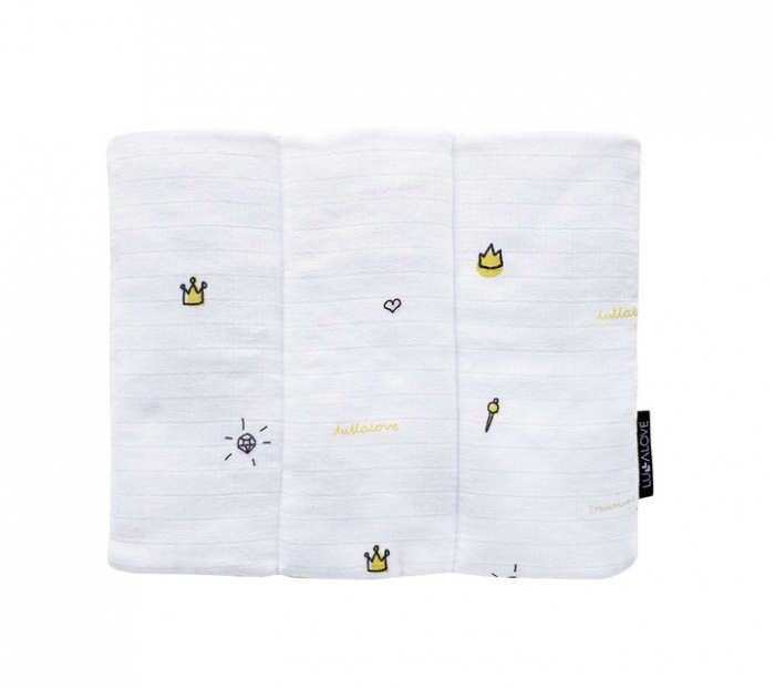 Pernuta muselina, 25 x 30cm, Crowns [1]