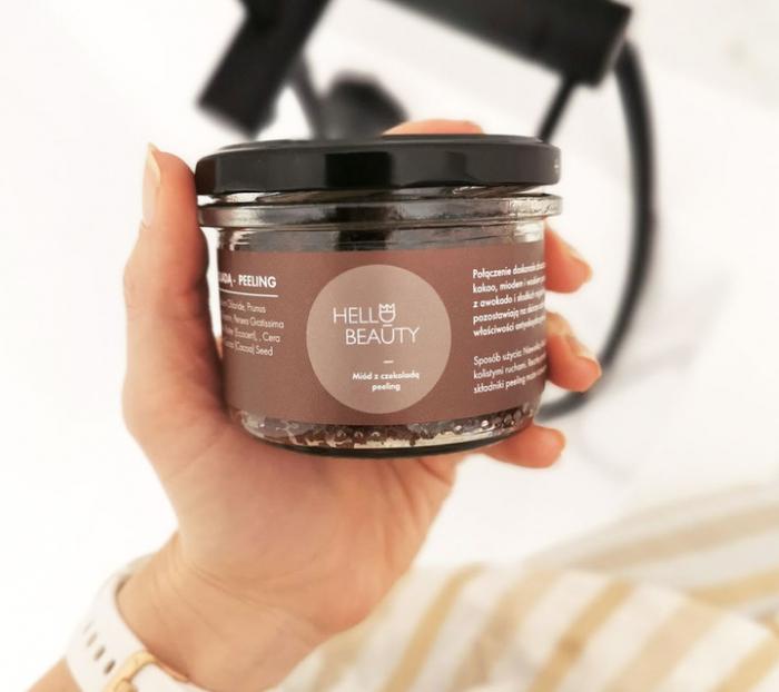 Sare exfolianta cu Miere si Ciocolata 0