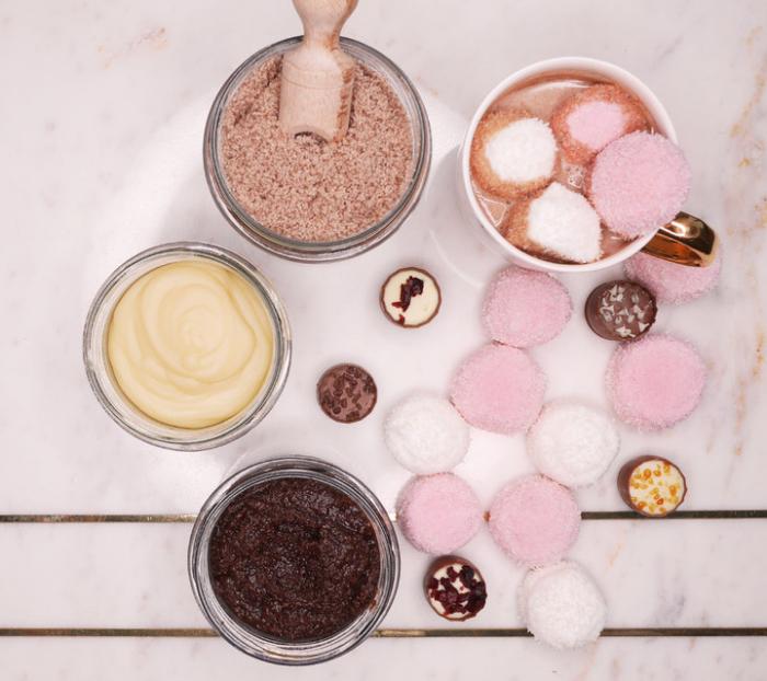 Sare de baie - Miere si Ciocolata (350gr) 2