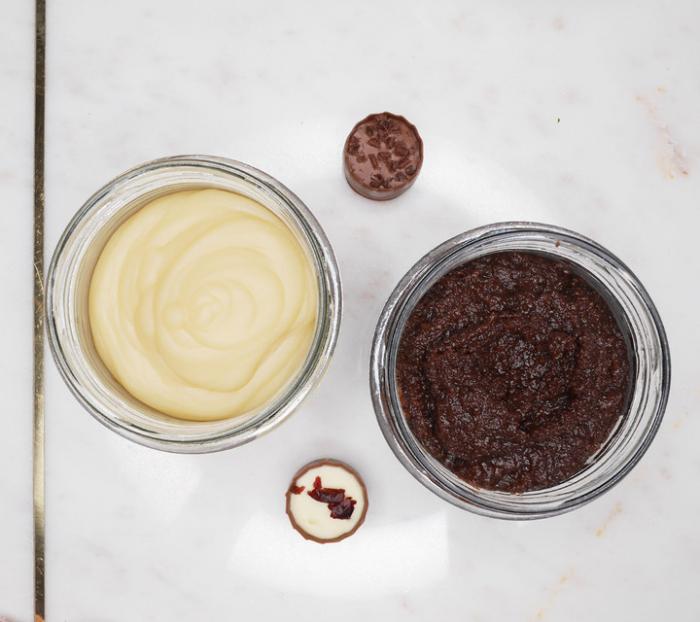 Sare exfolianta cu Miere si Ciocolata 3