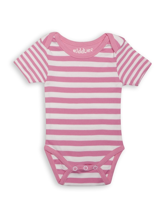 Body Pink Striped by Juddlies 0-3 luni 3