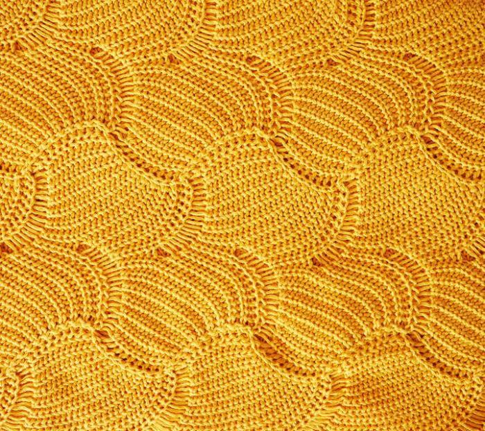 Paturica de vara Shell 80 x100cm - Mustar 3
