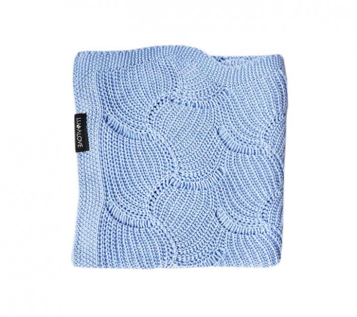 Paturica de vara Shell 80 x 100cm - Light Blue [0]