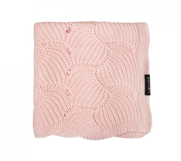 Paturica de vara Shell 80 x 100cm - Light Pink [0]