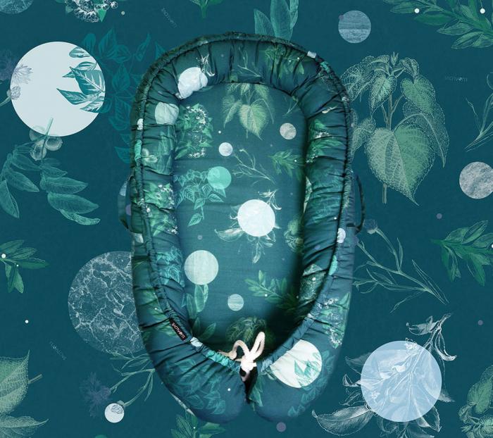 Baby Nest LullaLove - Moon Garden 0