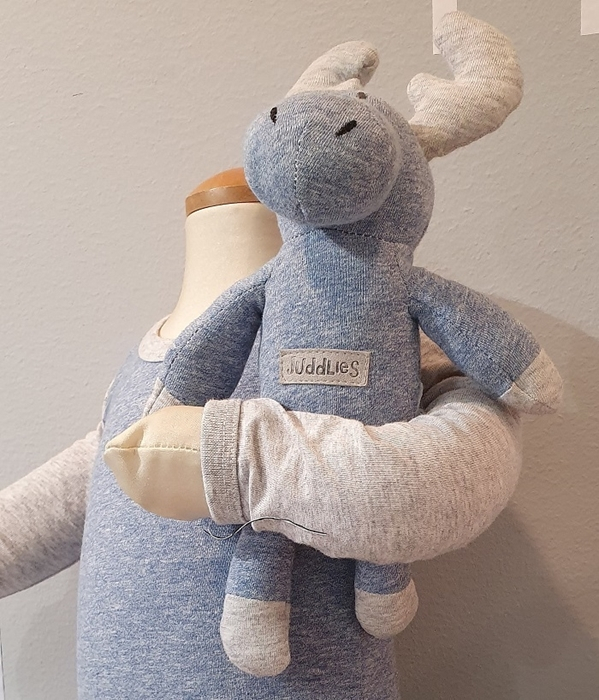 Jucarie Nou Nascut Rattle Blue Denim 1