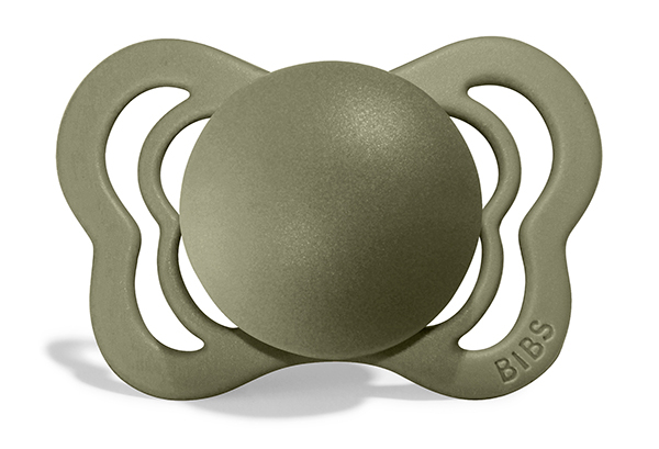 2 Pack Bibs Couture Honey Bee / Olive Silicon Size 1 (0-6 luni) [5]