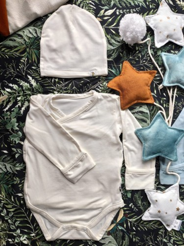 Body Kimono Bambus Nanaf Organic - 0-1 luni 1
