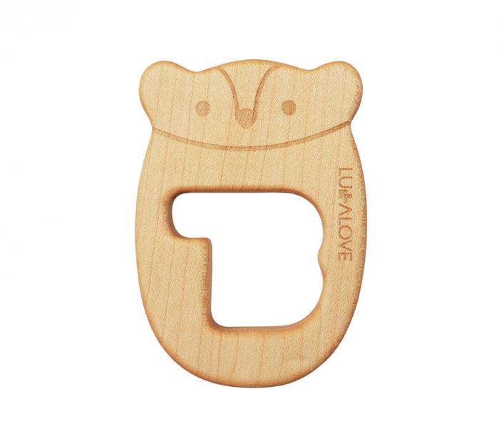 Jucarie dentitie, lemn de artar, MRB [0]
