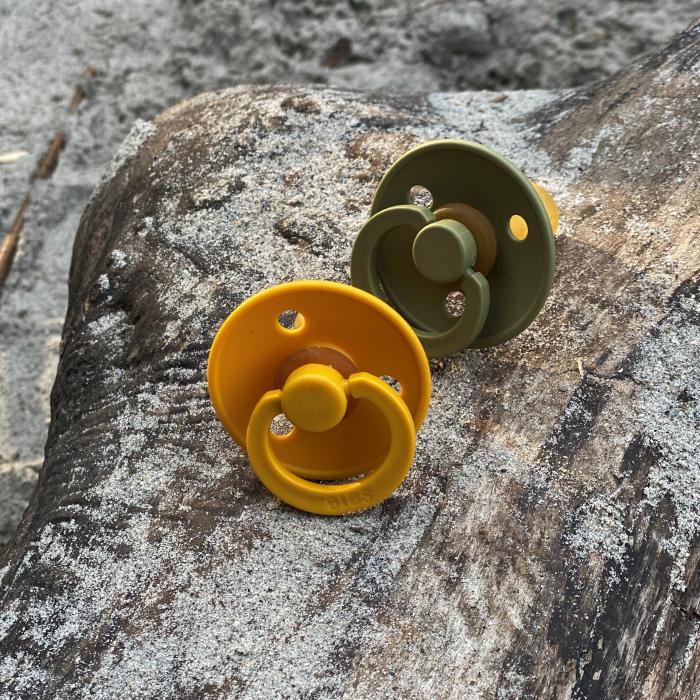 2 Pack Bibs Colour Honey Bee / Olive Size 3 (18 +) - Bibs Denmark 1