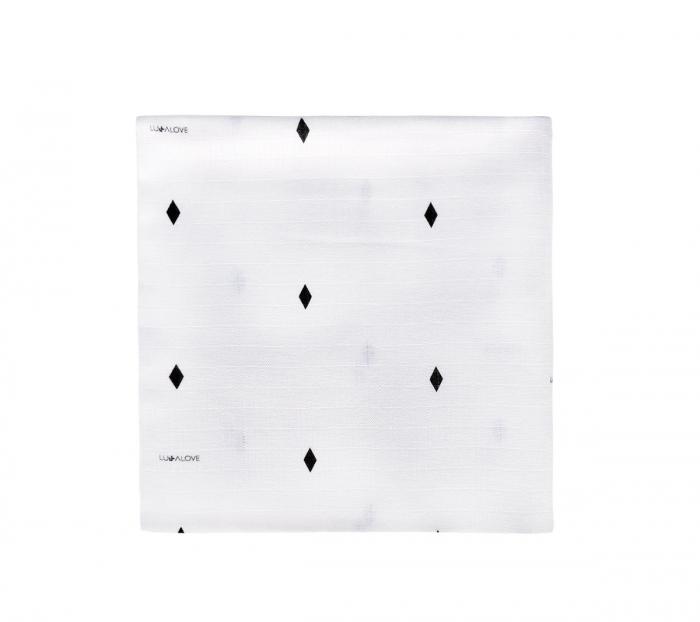 Muselina de infasat  - 100 x 100cm - Diamonds 0