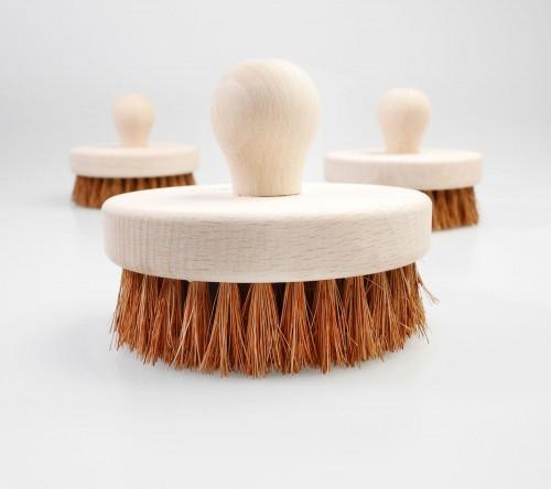 Perie rotunda pentru masaj - cocos [0]