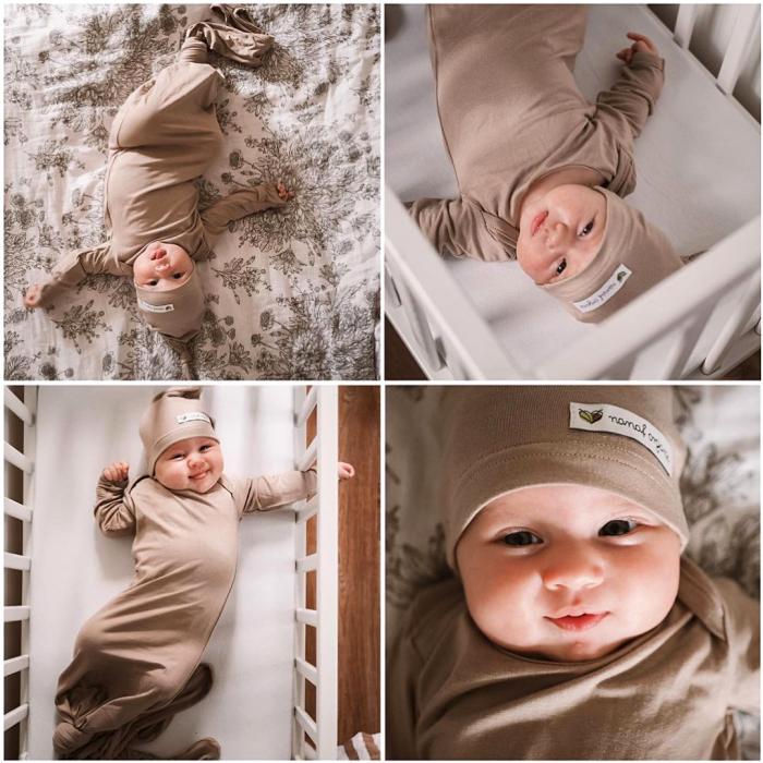 Sac de dormit cu nod Nanaf Organic 3