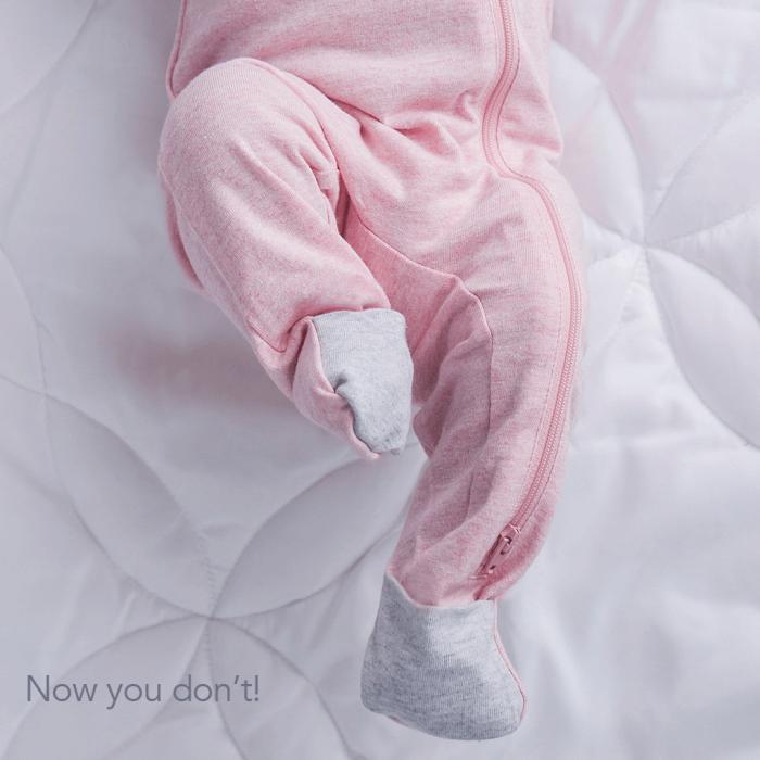 Salopeta bumbac organic Pink by Juddlies 6-12 luni 2