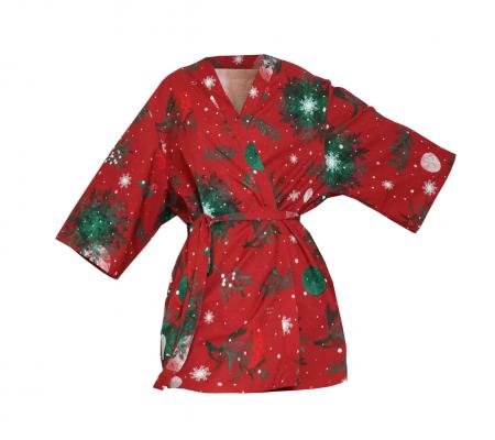 Kimono bumbac XMas Lullalove5