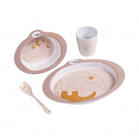 Set masa pentru copii Powder/Gold Done by Deer1