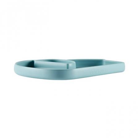 Farfurie silicon Stick&Stay Blu Elphee [3]