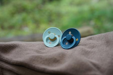 2 Pack Bibs Nordic Mint / Forest Lake Size 1 (0-6 luni) - Bibs Denmark [5]