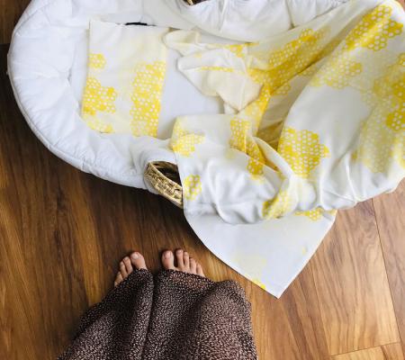 Muselina de infasat  - 100 x 100cm - Boho Honey [3]