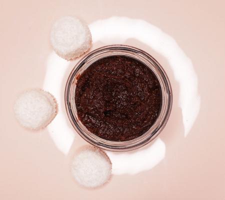 Sare exfolianta cu Miere si Ciocolata2