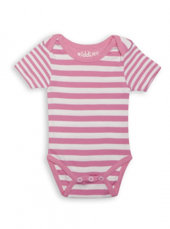 Body Pink Striped by Juddlies 3-6 luni0