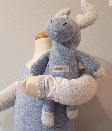 Jucarie Nou Nascut Rattle Blue Denim1