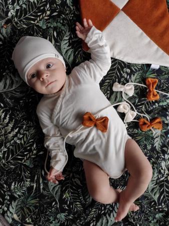 Body Kimono Bambus Nanaf Organic - 0-1 luni (nou nascut)0
