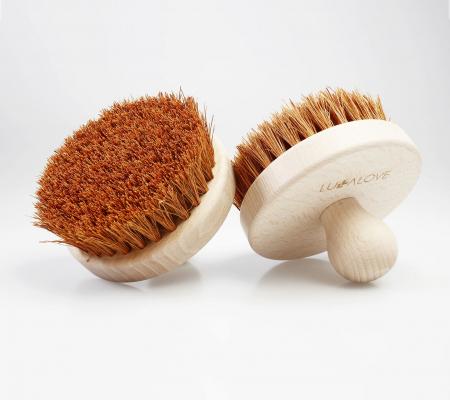 Perie rotunda pentru masaj - cocos [1]