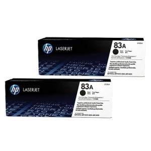 Set cartuse toner HP 83A Black CF283AD 2buc/set [0]