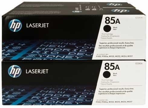 Set cartuse toner HP 85A Black CE285AD 2buc/set 0