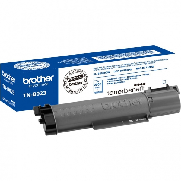 Cartus toner Brother Black TNB023 Original 0