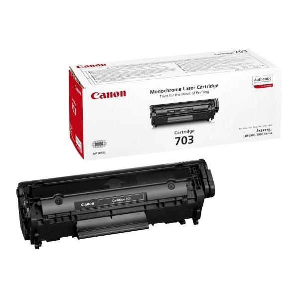 Cartus toner Canon Black CRG-703 0