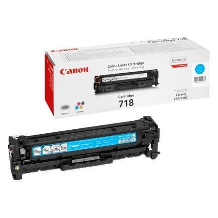 Cartus toner Canon Cyan CRG-718C 0