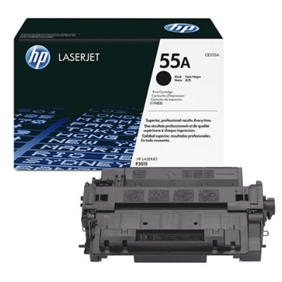 Cartus toner HP 55A Black CE255A 0
